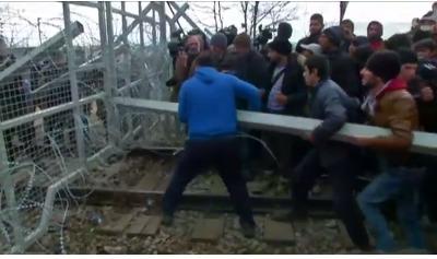 Refugee violence