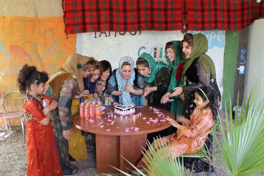Celebration of then year\'s anniversary of Halabja Women Centre