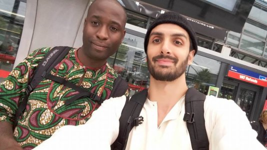 Karl Ohiri and Sayed Hasan