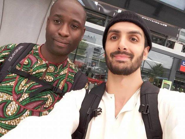 Karl Ohiri and Sayed Hasan
