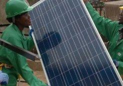 african solar industry