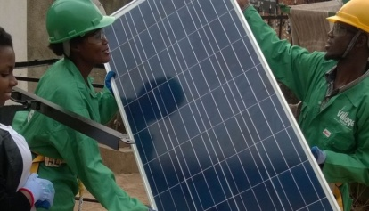african solar industry