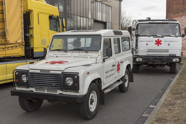 cadus mobile hospital land rover