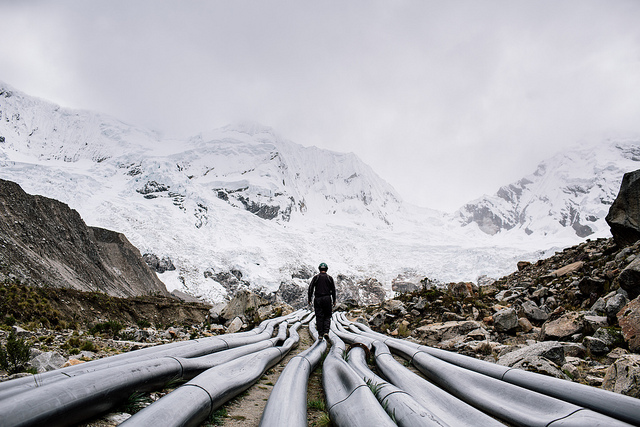 Melting Glaciers Andes