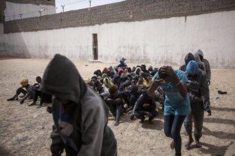 libya-refugee camp