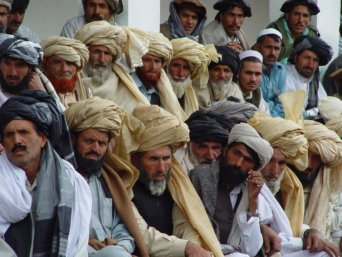 Pashtun tribesmen in Pakistan