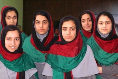 Afghanistan-girls-robotics-team