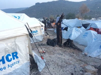 moria refugee camp