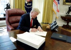 trump signing bill before christmas 2017
