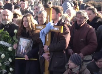 funeral Oliver Ivanovic