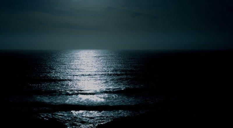 ocean moonlight