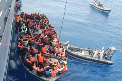 refugee mediterranean sea