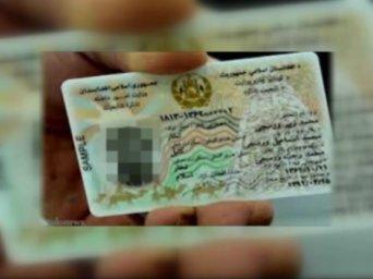 afghan id card