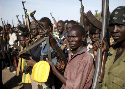 south sudan arms