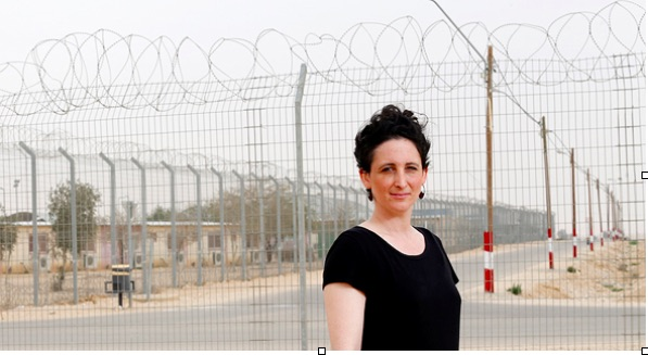 Ravid, this week at the \'Holot\' detention facility. \'Germany scattered a million refugees in a way that matches their skills and available jobs in various communities.\'
