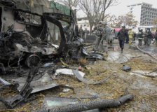 VBIED explosion in Kabul City, Afghanistan on Jan 17, 2009.