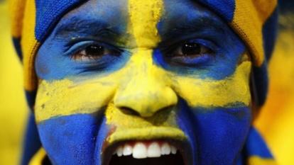 Sweden v England - Group D: UEFAEURO 2012