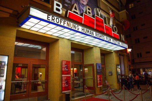 The cinemas \'Babylon\' in Berlin, Germany.