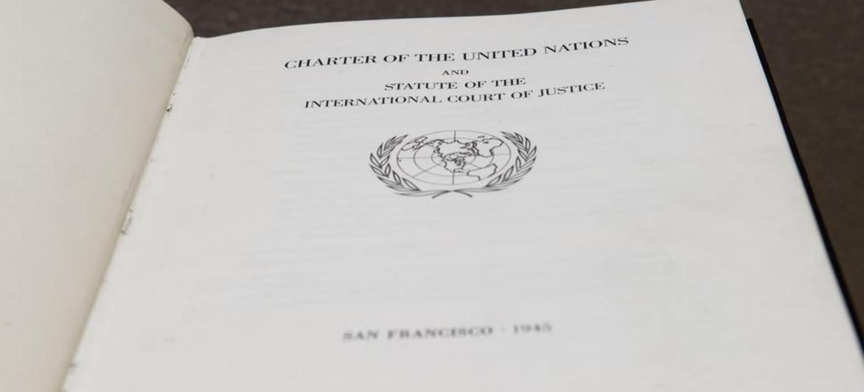 charter UN book