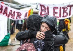 Protest against Planned Logging in Hambach ForestProtest gegen Rodung des Hambacher Walds durch RWE