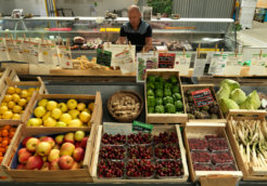 Ecological Farmers Supermarket in Lyon