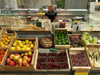 Ecological Farmers Supermarket in Lyon