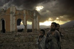 kids in war