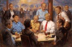 trump painting