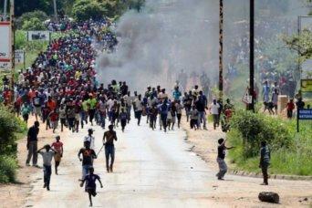 zimbabwe fuel protest