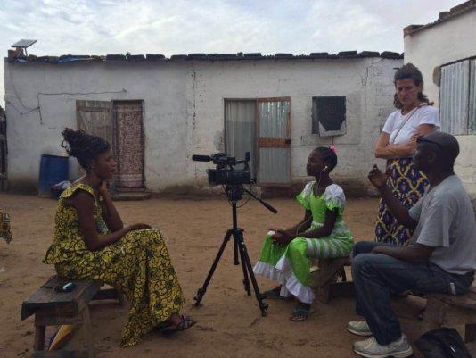 Ndèye Fatou Fall- director of Walk On My Own