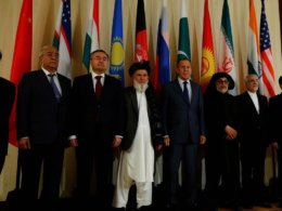 Afghan leaders and Taliban