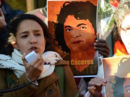 enviromental activist latin america