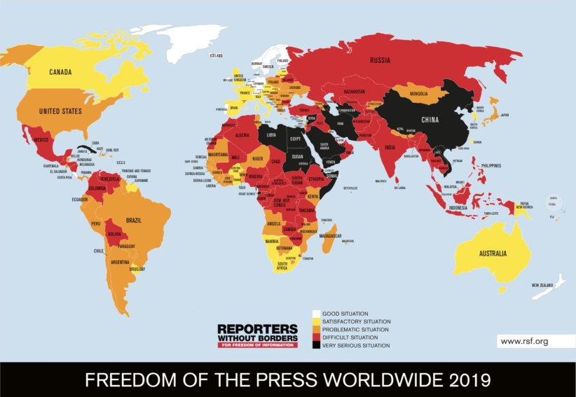 World Press Freedom 2019