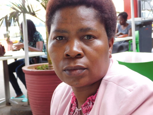 Dr. Priccilar Vengesai, a Zimbabwean lawyer and women rights activist