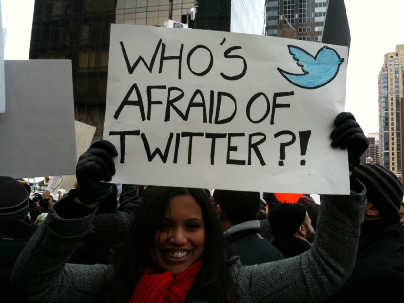 who is afraid of twitter