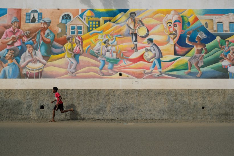 Graffiti of history in Cape Verde