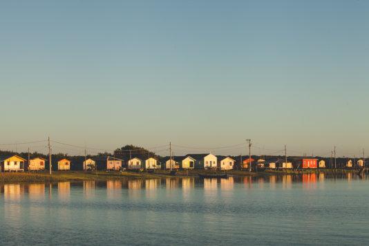 Riverside houses in Guapicum Island, in Guaraqueçaba, an area with rich biodiversity near Ilha do Mel