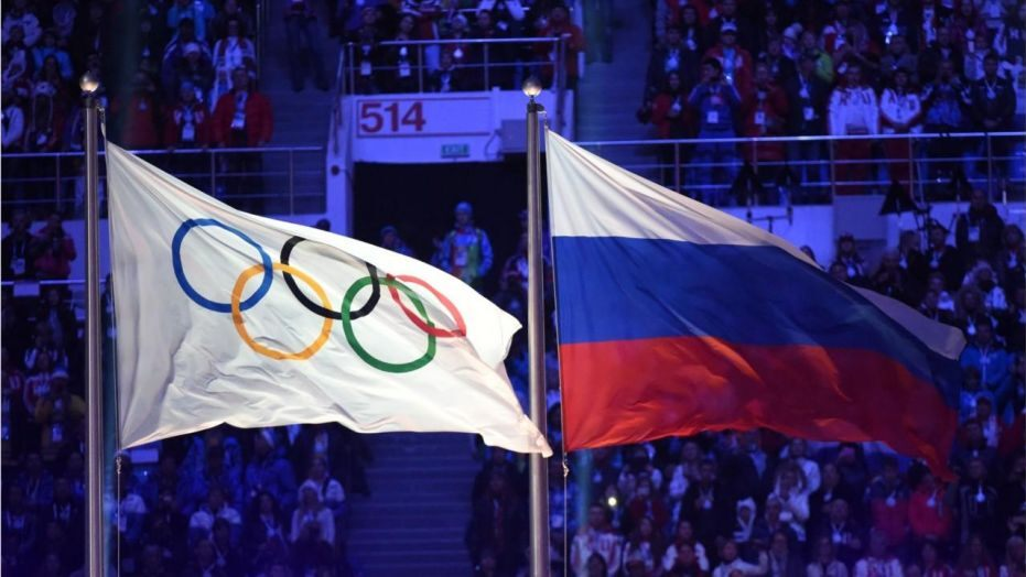 Image result for Russia bans from international sport for four years for doping offenses.