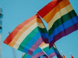 Rainbow flags for LGBTQ rights © Daniel James/Unsplash